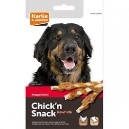 Лакомство за куче Chick'n Snack - солети обвити с пилешко месо от Karlie, Германия