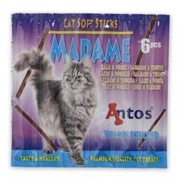 """""""Madame"""" - Котешки пръчици с месо от сьомга и пъстърва"""