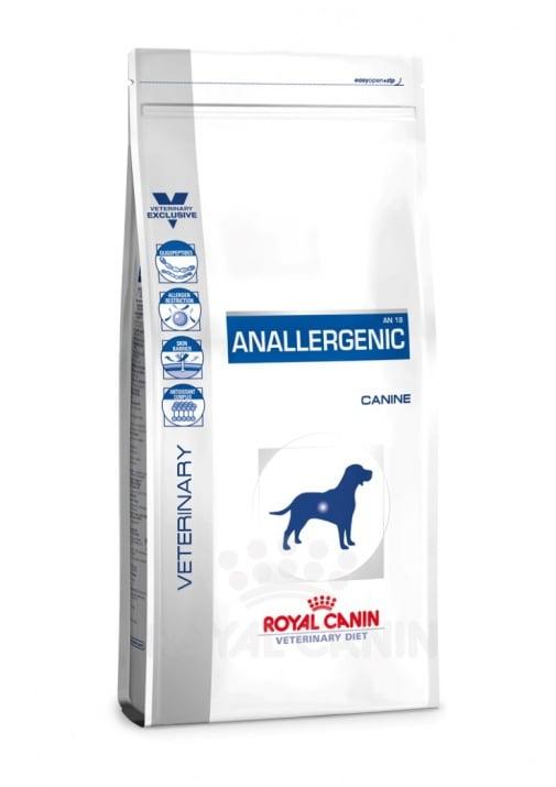 Royal Canin Anallergenic – за лечение и профилактика на тежки хранителни алергии. - 3.00кг ; 8.00 кг