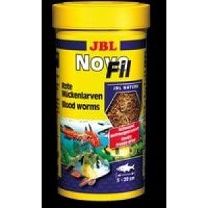 JBL NovoFil /вакумирани и замразени изсушени ларви на червени комари/-100мл