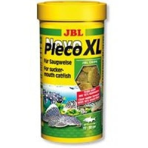JBL NovoPleco XL /храна за големи растителноядни риби/-250мл