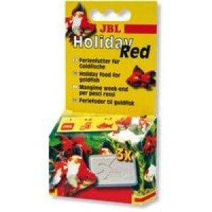 JBL Holiday Red /храна на блокчета за златни рибки,разтварящи се за период 4-6 дни/-20гр