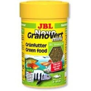 JBL NovoGranoVert mini /храна за малки растителноядни рибки-гранули/-100мл