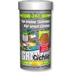 JBL Grana-Cichlid /за месоядни цихлиди -гранули/-250мл
