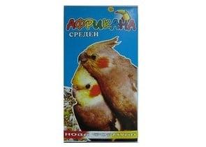 Пълноценна храна за средно големи папагали - 500гр.