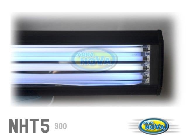 Осветление за аквариуми Т5 - 120см - NHT5-1200 - /2бр. бели тръби - 2бр. сини тръби/
