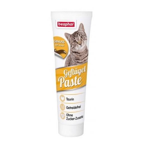 Паста за котки Beaphar Poultry Paste - добавка към храната за подобряване на здравословното състояние и външния вид на котките