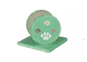 Зелено драскало с хралупа