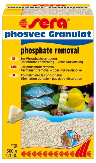 sera phosvec Granulat 500гр-премахва фосфати