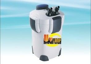 SunSun HW-402B Професионален филтър с вградена UV лампа