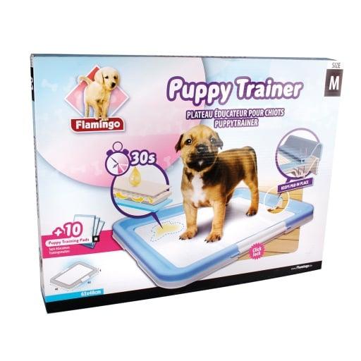 Хигиенен комплект за уриниране на малки кученца - 10 бр. подложки + основа с щипки, Karlie