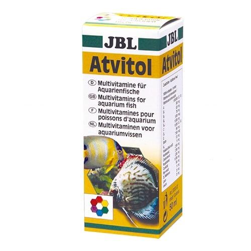 Емулсия от мултивитамини за рибки с основни аминокиселини JBL Atvitol, 50 мл