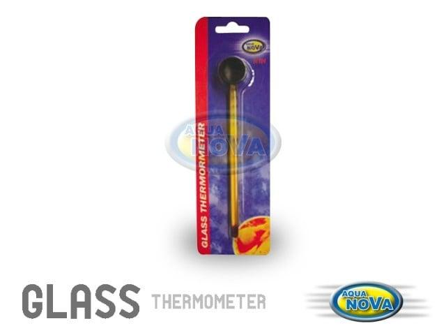 Aqua Nova (N-TH) Стъклен жълт термометър