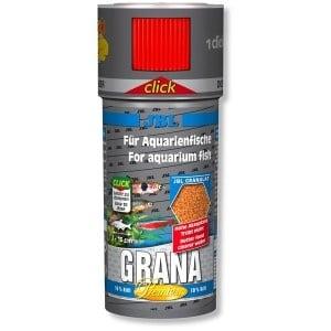 JBL Grana Click / премиум храна за малки рибки -гранули с дозатор/-250мл