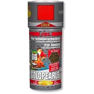 JBL GoldPerls Cick /храна за златни рибки-перли с дозатор/-250мл