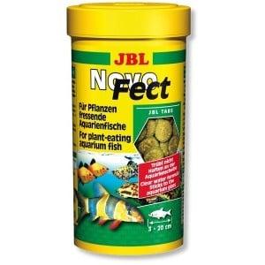 JBL NovoFect /основна храна за растителноядни рибки/-100мл