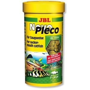 JBL NovoPleco /чипс от водорасли за сомчета/-250мл