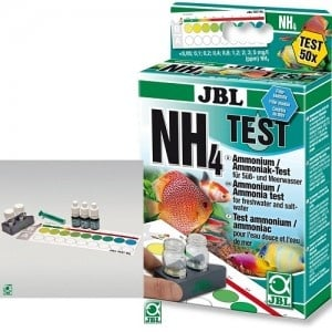JBL Ammonium Test NH₄ /тест за измерване нивото на амоняка във водата/