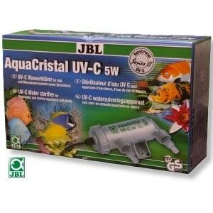 JBL AquaCristal UV-C 5W /UV-C система за аквариуми (морски и сладководни) и езера/-5W