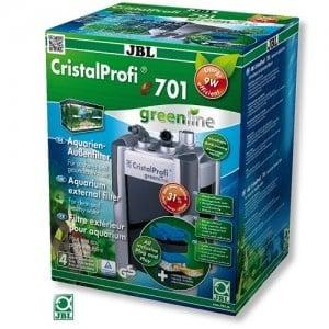 JBL CristalProfi e701 greenline /енергоспестяващ външен филтър за аквариуми от 60 до 200л/18x21x35см