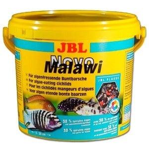 JBL NovoMalawi /храна за растителноядни африкански цихлиди/-5.5л