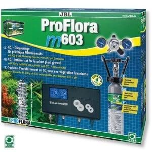 JBL ProFlora m603 CO₂ /професионална CO₂ система с бутилка (500гр) за многократна употреба и pH контролер/