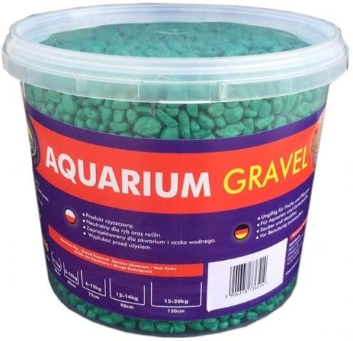 Aqua Nova Пясък зелен 4-8mm - разфасовка 5кг