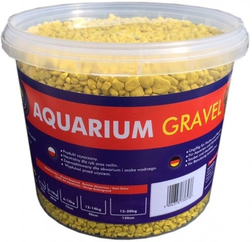 Aqua Nova Пясък жълт 4-8mm - разфасовка 5кг