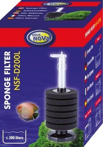 Aqua Nova Филтърна гъба за аквариуми до 200л NSF-D200L