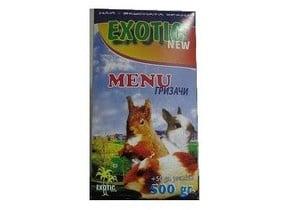 Пълноценна храна Menu за гризачи - 550гр.