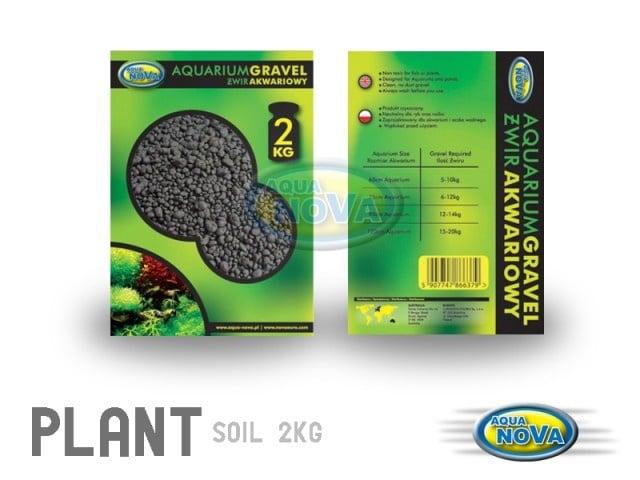 Aqua Nova Почва за растения черна NPS - 1.5кг; 5.00кг