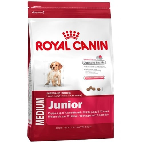 Royal Canin medium junior 15кг