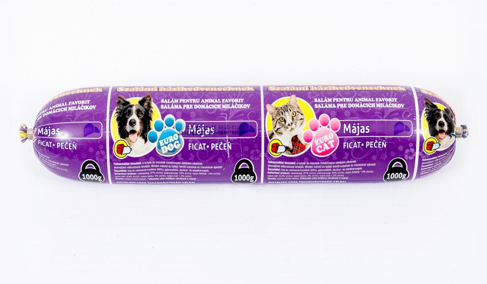 Салам за кучета и котки с дроб