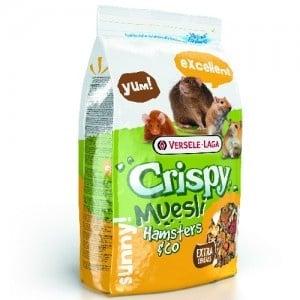 Versele-Laga Crispy Muesli Hamster & Co /пълноценна храна за хамстери и мишки/-1кг