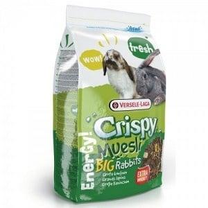 Versele-Laga Crispy Muesli Rabbits /пълноценна храна за мини зайчета/-20кг