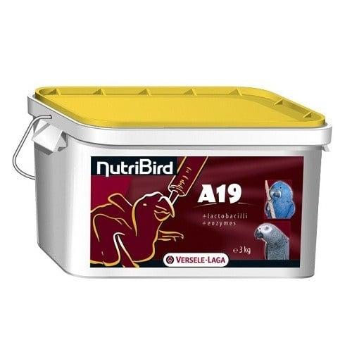 Versele-Laga NutriBird A19 for baby birds /за ръчно храненте на новоизлюпени големи папагали/-3кг