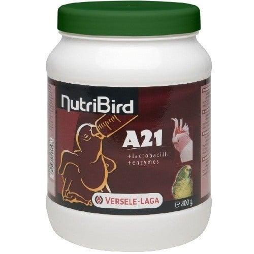Versele-Laga NutriBird A21 /за ръчно хранене на новоизлюпени средни и големи папагали/-800гр; 3,00кг
