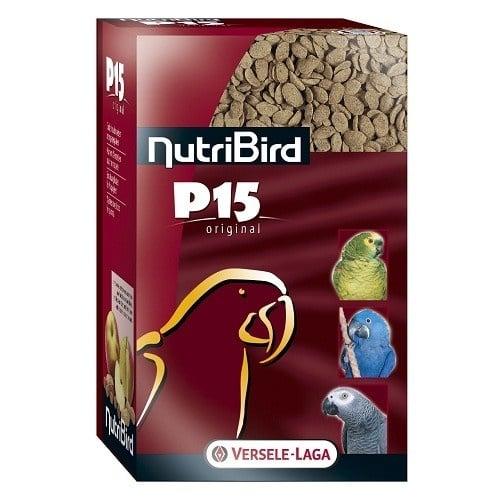 Versele-Laga NutriBird P15 Original /пълноценна екструдирана храна за ежедневно хранене на големи папагали/-4 кг