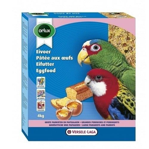 Versele-Laga Orlux Eggfood Dry Parrots & Large Parakeets /суха яйчна храна за средни и големи папагали/-4кг