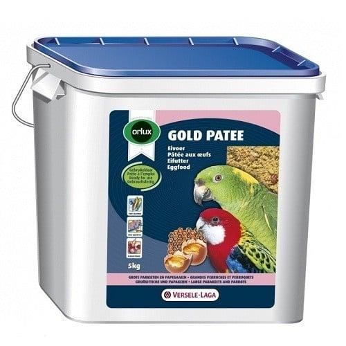 Versele-Laga Orlux Gold Patee Parakeet & Parrots /мека яйчна храна за средни и големи папагали/-5кг