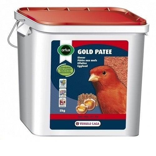 Versele-Laga Orlux Gold Patee Red Canaries /мека яйчна храна за червени канарчета/-5кг