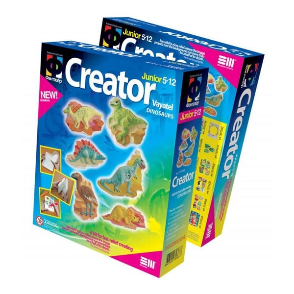 Креативен комплект Creator «Dinosaurs»