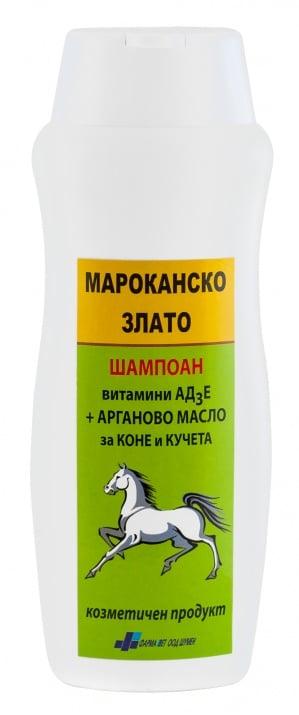 ШАМПОАН МАРОКАНСКО ЗЛАТО - с АРГАНОВО и АД3Е, 200 мл.