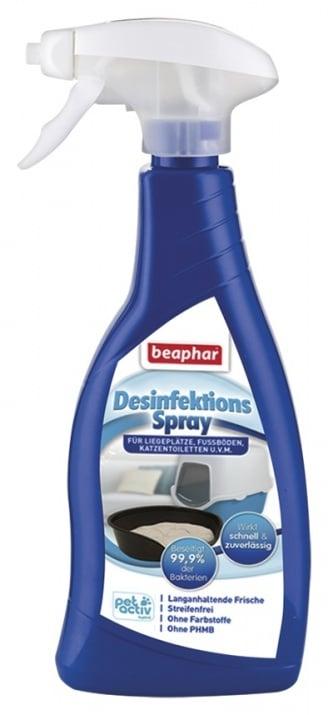Спрей дизинфектант Beaphar Disinfectant Spray - отлично почистване на клетки, съдове, котешки тоалетни и др.
