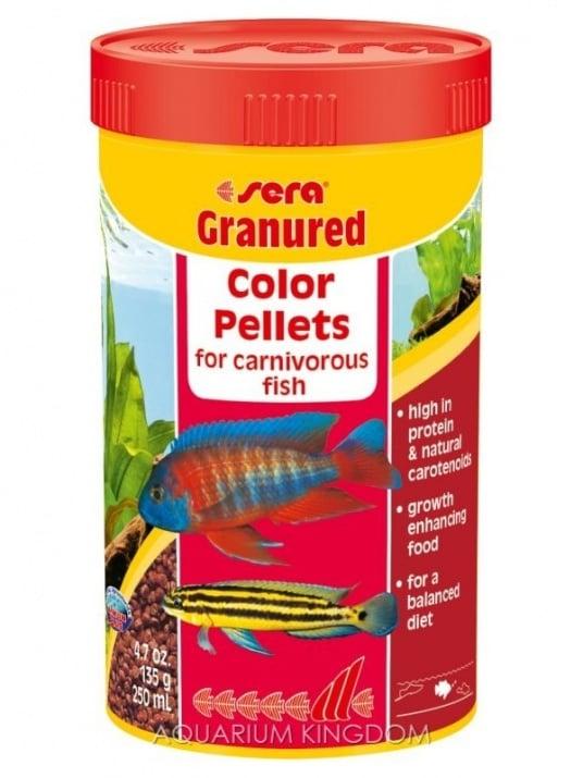 Granured Color Pellets - Храна за рибки - циклиди