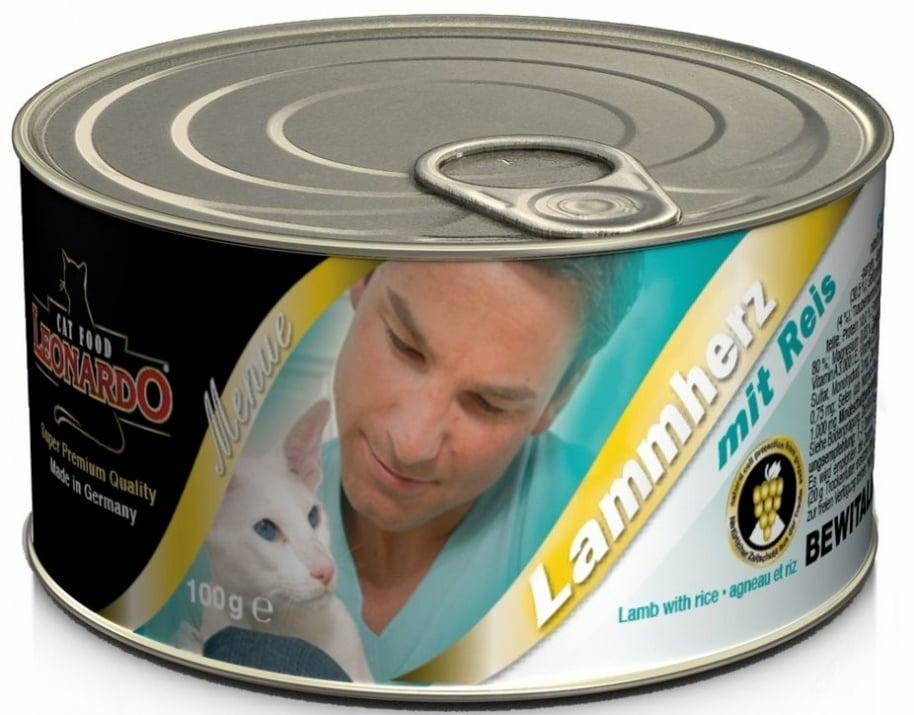 Пастет за котки с агнешко месо и сърца