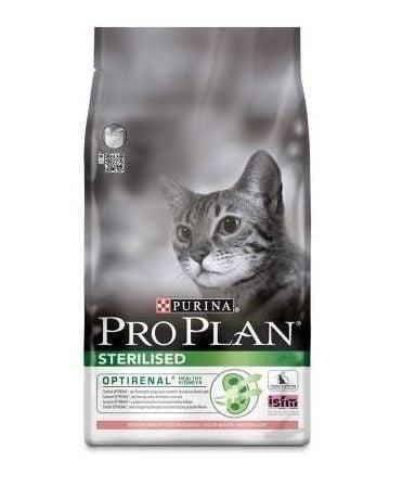 Pro Plan Sterilised - Храна за кастрирани котки със сьомга и риба тон