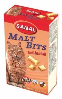 Малцови хапки за котки, подпомагат изхвърлянето на космените топки